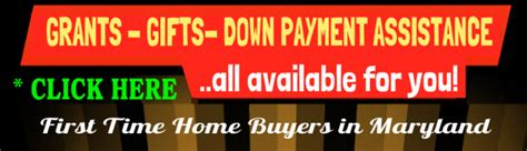 programs for time home buyers in md