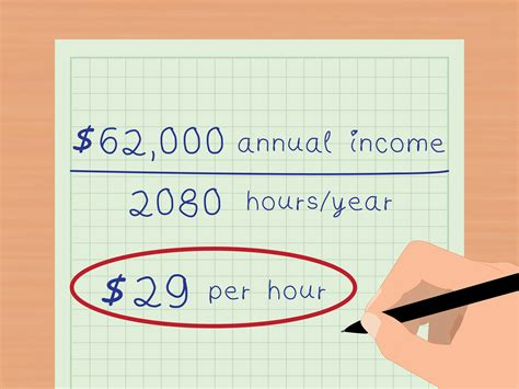 rate of pay for someone 3 ways to calculate your real hourly wage wikihow