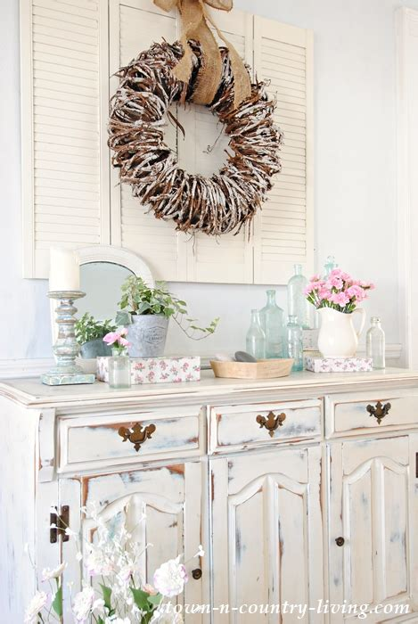 buffet shabby chic how to create a home town country living