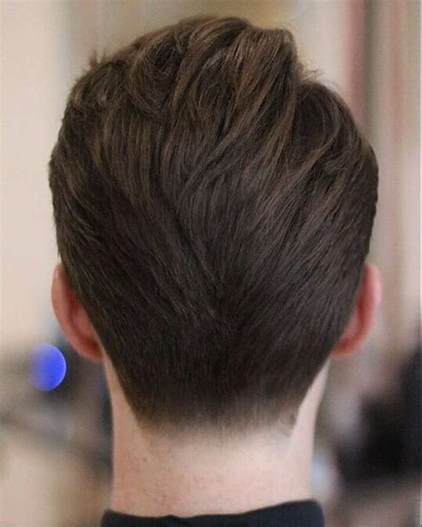 short hair tapered in back back of neck haircut styles haircuts models ideas