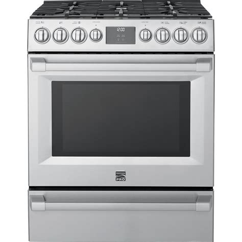 Oven Gas 1 Jutaan kenmore pro 72583 5 1 cu ft gas true convection range