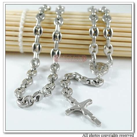 stainless steel rosary new arrivals fashion stainless steel rosary cross