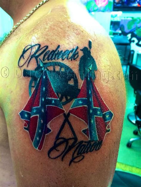 american rebel tattoo 45 rebel flag tattoos