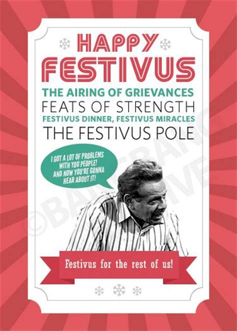 Happy Festivus Meme - 57 best festivus holiday for the rest of us images on