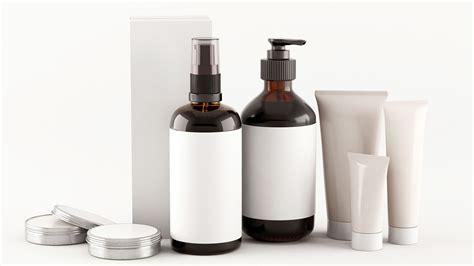 cosmetic bottles  model cgtrader