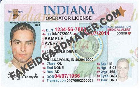 indiana id card template archives revizionmovies