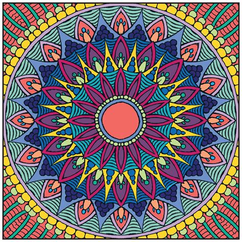 Mandalas Adult Coloring Book With Relaxation Cd Color Book Colored