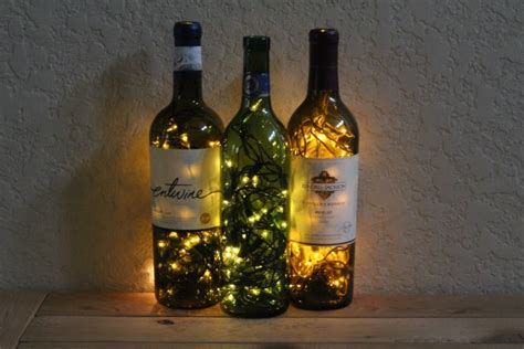 diy light up wine bottle 9 creative diy lighting projects for the home
