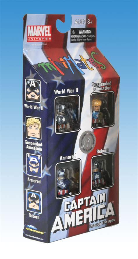 Captain America Boyset captain america through the ages minimates box set the toyark news