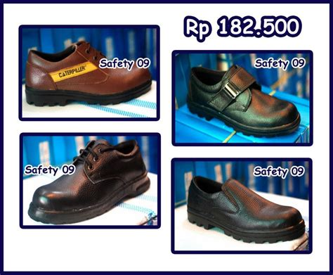Ready Stock Shoes Safety sepatu safety proyek konstruksi ready stock safety