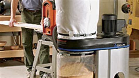 compact dust collector finewoodworking