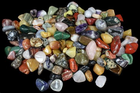 Bulk Rocks For Sale Bulk Mixed Polished Minerals 16 Ounces 30pc For