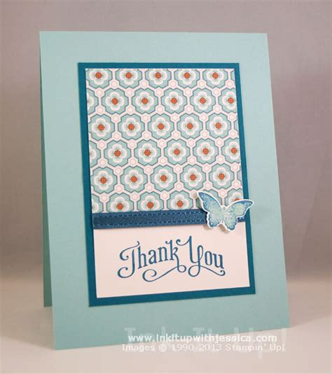 thank you cards to make pattern paper thank you cards ink it up with