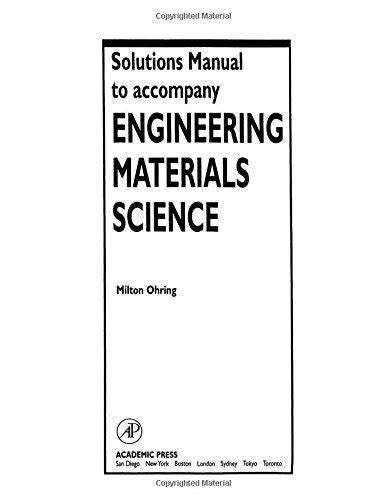 solutions manual to accompany analysis and design of digital integrated circuits solutions manual to accompany engineering materials science health personal care vision