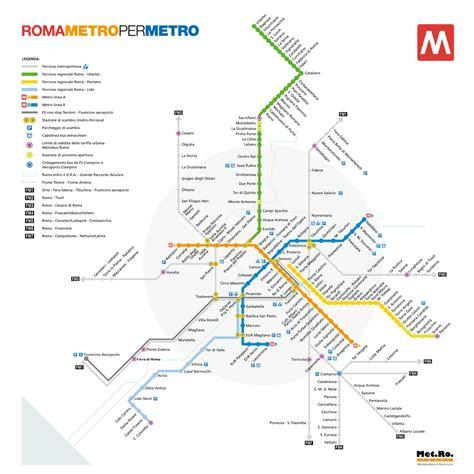 porte di roma mappa metro di roma linee della metropolitana di roma