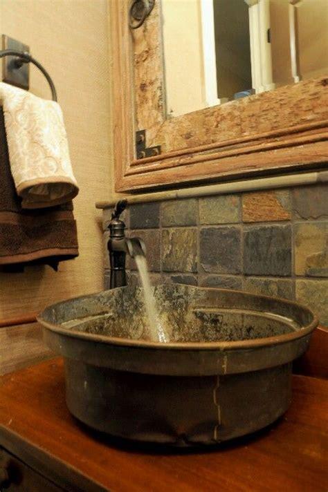 Wash Tub Sink by Wash Tub Sink She Shed