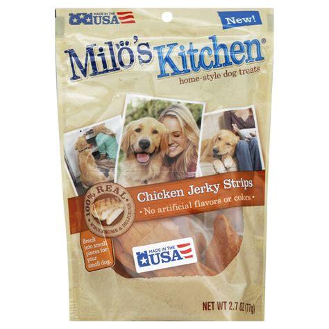 Milo S Kitchen Treats by Milo S Kitchen Chicken Strips Treats 2 7 Fl Oz