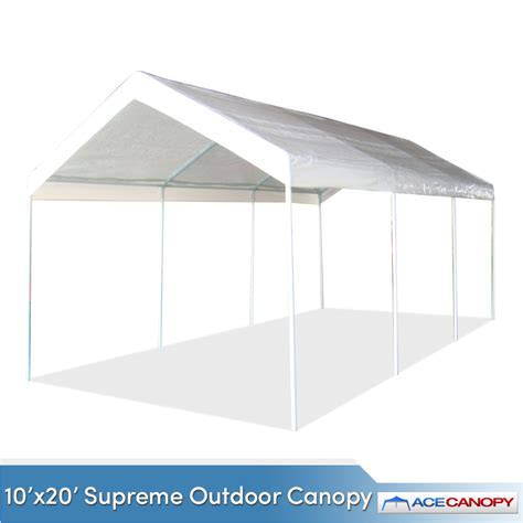 10 x 20 outdoor canopy 10 x20 supreme outdoor canopy w valance top sale