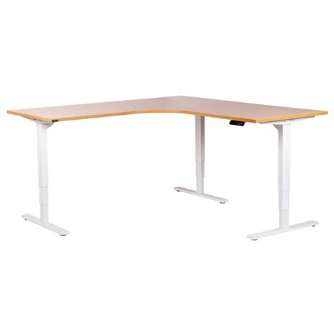 adjustable height corner desk product browse stuart and dunn office choice