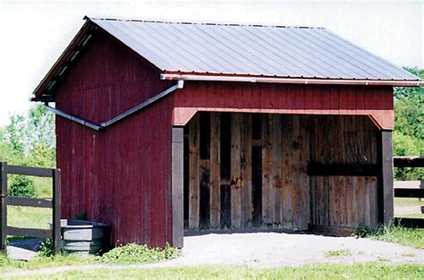 How To Build A Run In Shed For Horses by How To Build A Run In Shed For