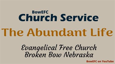 Broken Serving Broken Part 1 Church At by 2018 01 28 Broken Bow Evangelical Free Church Service