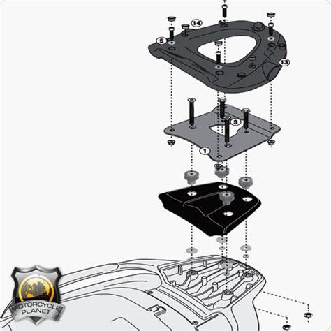 givi sr5609m top box rack for piaggio mp3 500ie business