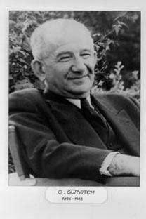 Gurvitch: conciencia crítica de la sociología moderna