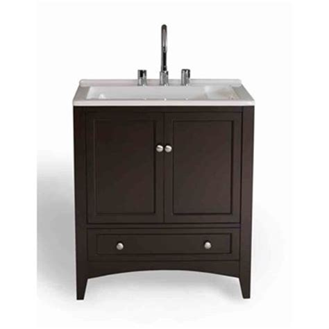 Laundry Room Vanity Cabinet Stufurhome 30 5 Quot Laundry Utility Sink Vanity Espresso Free Shipping Modern Bathroom