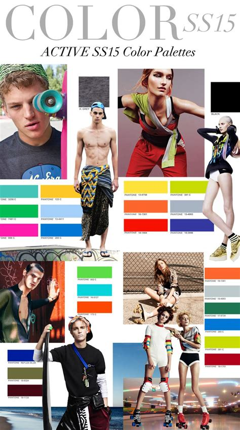 whats trending in 2015 trend council s s 2015 active colors spring summer 2015