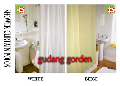 Tirai Kamar Mandi Polyester Uk 180 X 180 Cm shower curtain tirai kamar mandi khusus hotel dan