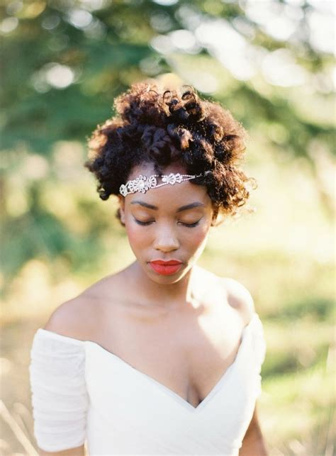 12 short hairstyles for natural brides naturalhairbride