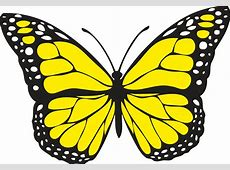 yellow Free Clipart Downloads Butterflies