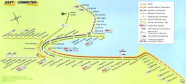 Dart Route Map by Missing Dart Commuter Maps Rail Users Ireland Forum