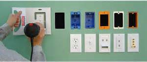 electrical outlet template cutzout installation templates