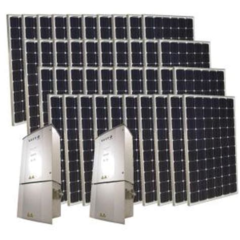grape solar  watt monocrystalline pv grid tied solar