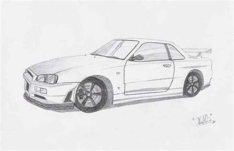 2 fast 2 furious skyline coloring page coloring pages