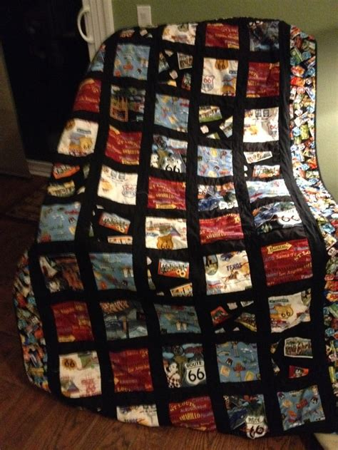 Route 66 Quilt Pattern by 23 Best Images About Route 66 Quilts On Quilt