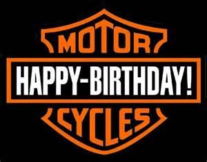 Harley davidson motorcycle happy birthday harley davidson
