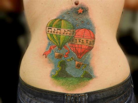 tattoo of hot air balloon 25 best images about balloon tattoos on pinterest hot
