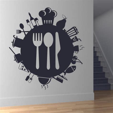 food planet wall sticker food wall