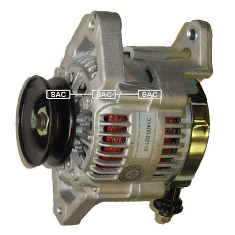 Suzuki Alternator Suzuki 1 3 Sa Alternator 1984 1989 A1280