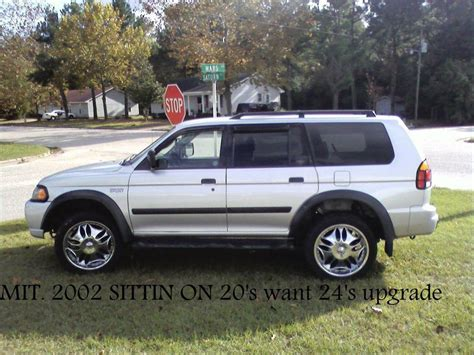 mitsubishi montero sport 2002 mitsubishi montero sport 2002 lifted image 56
