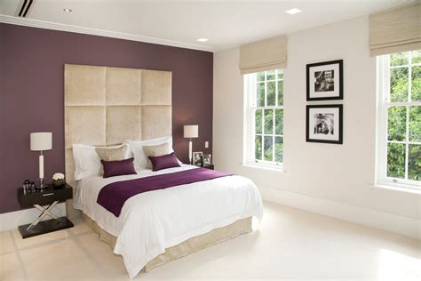 Bedroom With Maroon Carpet Maroon Walls Bedroom Contemporary With Feature Wall Wooden