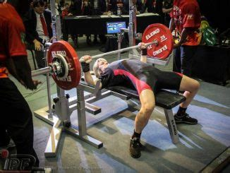jennifer thompson bench press the athletic build