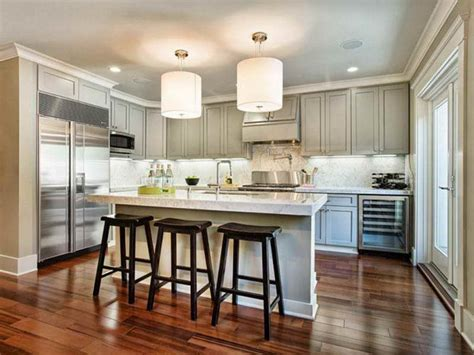 Kitchen Floors And Cabinets Kitchens With Wood Floors And White Kitchen Cabinets Wood Floors
