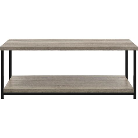 altra furniture elmwood sonoma oak storage coffee table