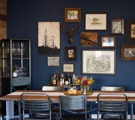 Idee Deco Mur Salle A Manger by 1001 Id 233 Es Pour Une D 233 Co Maison Couleur Indigo