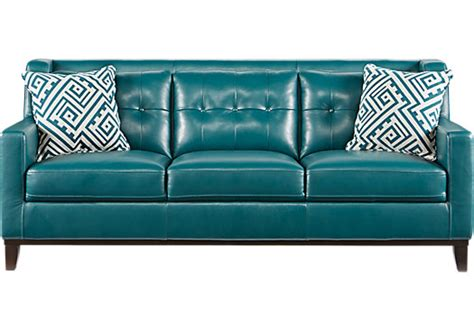 Teal Blue Leather Sofa The 25 Best Teal Leather Sofas Ideas On Leather Living Room Brown