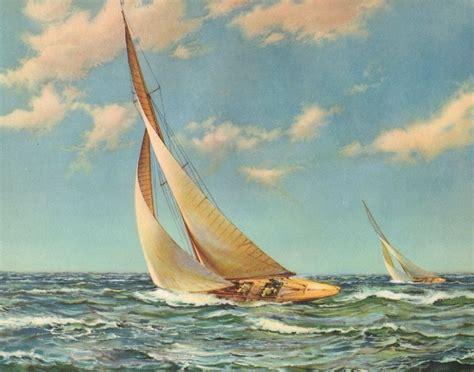 sailboat prints vintage 10 x 8 beautiful ocean sailing ship sailboat