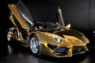 Gold Lamborghini Pictures The Gold Lamborghini Model That Is Pricey 13 Pics